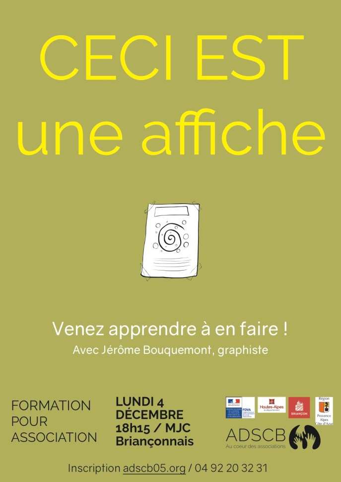 formation affiche