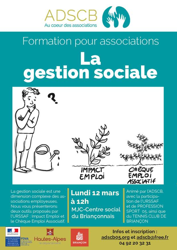affiche formation gestion sociale 2